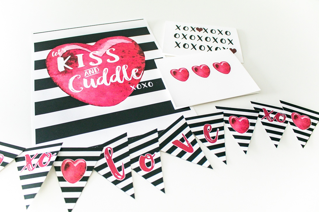 Printable Valentine Decor