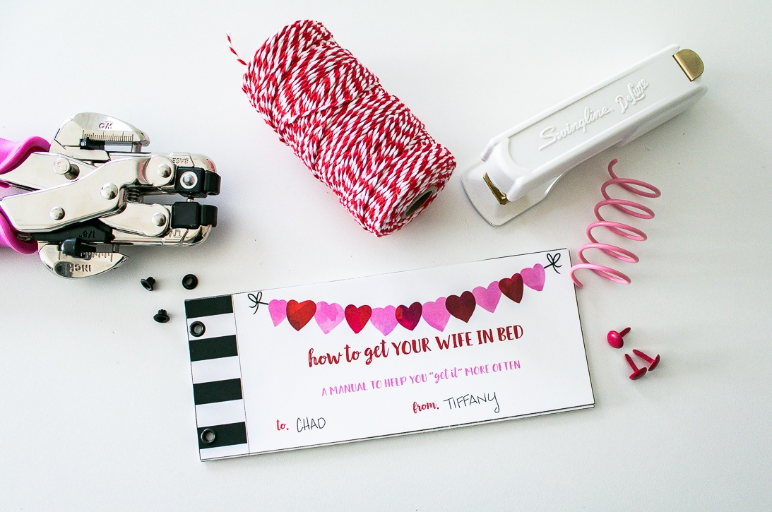 Sexy Valentine Gift for Husband. How to get your wife into bed. DIY something he actually wants!