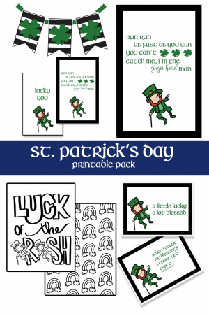 St Patricks Day Printable Pack
