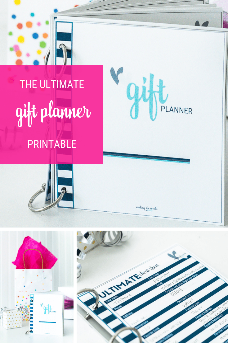 The Ultimate Gift Giving Planner