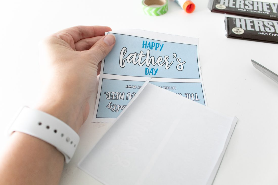 Candy Bar wrappers for Dads