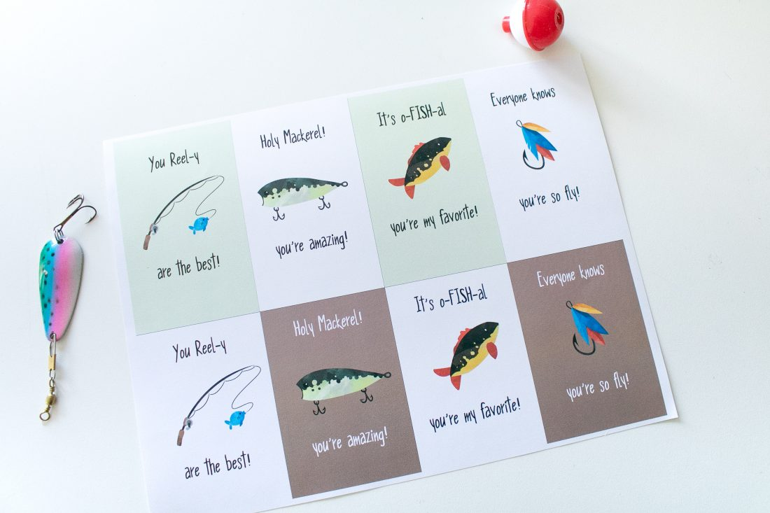 Fishing Gift Tags for Father's Day, Birthdays or just for fishing gifts!
